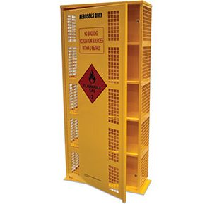Aerosol flammables cabinet-–-220-can