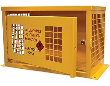 Aerosol dangerous goods storage Cage - 32 Can