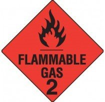 Class 2.1 Dangerous Goods Warning Triangle