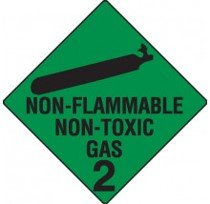 Class 2.2 Dangerous Goods Warning Triangle