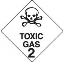 Class 2.3 Dangerous Goods Warning Triangle