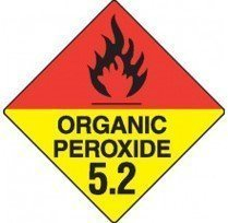 Class 5.2 Dangerous Goods Warning Triangle