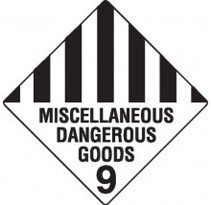 Class 9 Dangerous Goods Warning Triangle