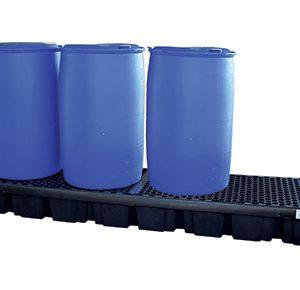 4 Drum bund polyethylene – four drum inline