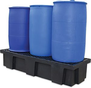 Drum-bund-polyethylene-with-removable-grates-–-three-drum