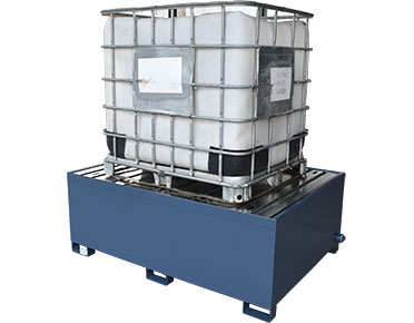 IBC-containment drum bunds-–-powder-coated-steel