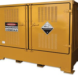 Outdoor dangerous goods storage-–-2000L