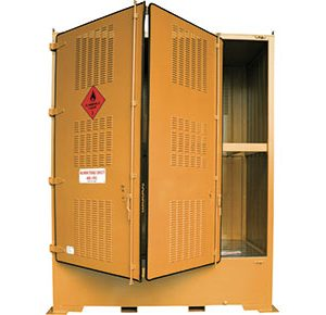 Outdoor dangerous goods storage–-4000L