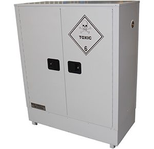 160 Litre chemical storage cabinet