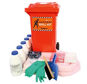 Hazchem Spill Kits- Battery acid 82 litre absorbent capacity
