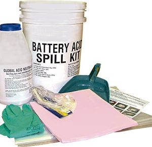 Hazchem Spill Kits - Battery acid 8 litre absorbent capacity