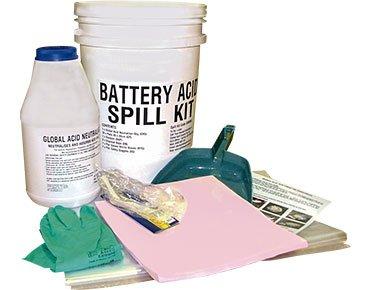 Hazchem Spill Kits - Battery acid 8 litre absorbent capacity