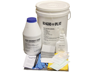Biohazard Spill Kit - 20L