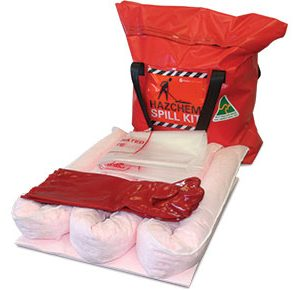 Hazchem Spill Kits - Economy truck bag 35L absorbent capacity