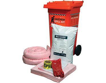 Hazchem Spill Kits - Economy 78L absorbent capacity