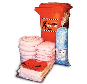 Hazchem Spill Kits - High performance 185L absorbent capacity