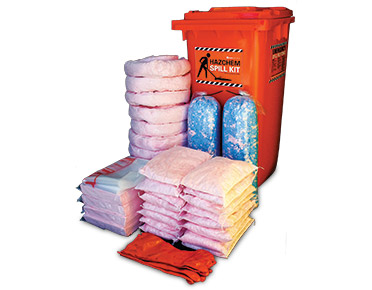 Hazchem Spill Kits - High performance 375L absorbent capacity