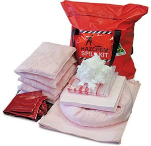 Hazchem Spill Kits - Pack bag 62L absorbent capacity