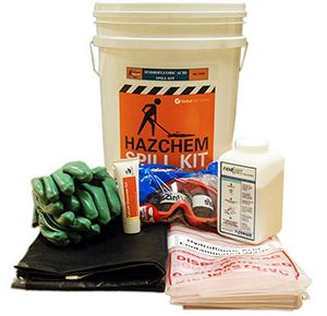 Hazchem Spill Kits - Hydrofluoric acid 650mL absorbent capacity