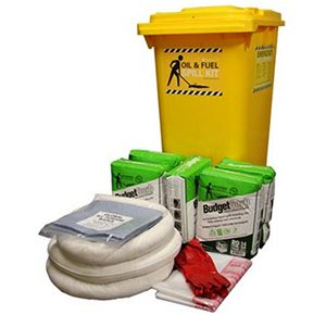 Oil & Fuel Indoor Spill Kits - Budget 90L absorbent capacity