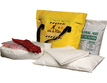 Oil & Fuel Economy Truck Bag Spill Kits - 37L absorbent capacity