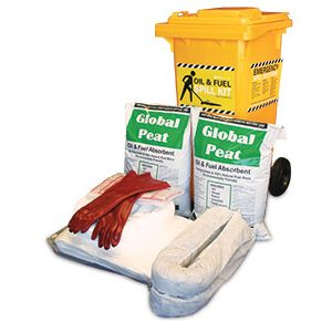 Oil & Fuel Outdoor Spill Kits - Economy plus 135L absorbent capacity