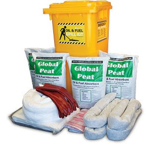 Oil & Fuel Outdoor Spill Kit - Economy plus 235L absorbent capacity