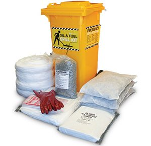 Oil & Fuel Indoor Spill Kits - High performance 175L absorbent capacity