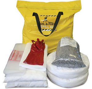 Oil & Fuel Indoor Spill Kits - Indoor station bag 89L absorbent capacity