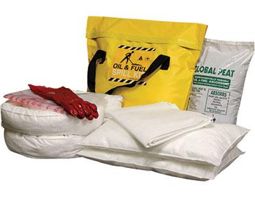 Oil & Fuel Medium Truck Bag Spill Kits - 58L absorbent capacity