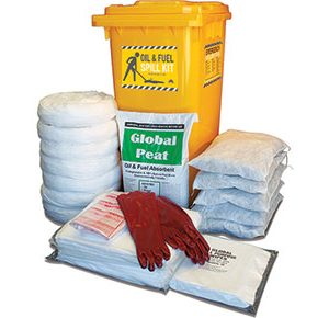 Oil & Fuel Outdoor Spill Kit - High performance 330L absorbent capacity