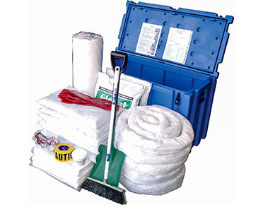 Oil & Fuel Outdoor Spill Kits - Space case 490L absorbent capacity
