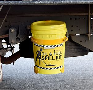 Oil & Fuel Truck mounted Spill Kits - 34L absorbent capacity