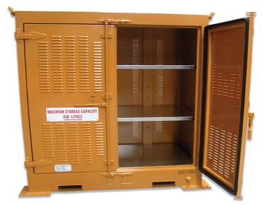 450 Litre Outdoor dangerous goods storage