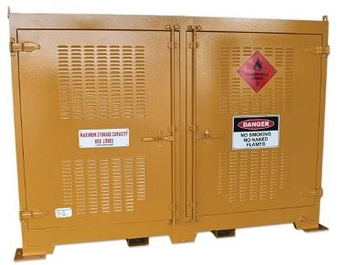 850 Litre Outdoor dangerous goods storage