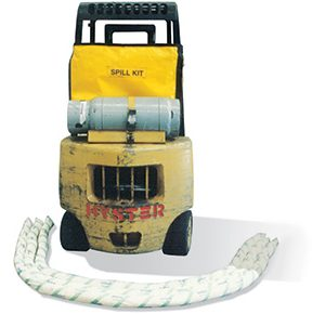 Oil & Fuel Spill Kit - forklift bag 66L absorbent capacity