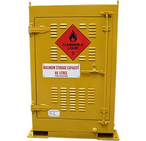 Outdoor dangerous goods storage-–-80L