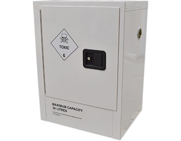 30L Toxic chemical storage cabinet