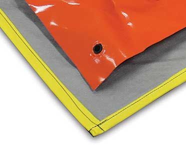 Anti-Abrasion Mat for use with Collapsible Bunds
