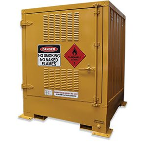 850 Litre Outdoor dangerous goods storage - pallet size