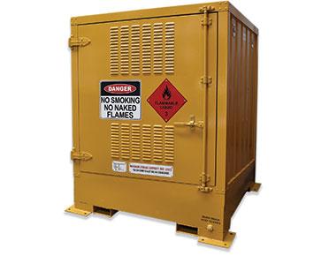 850 Litre Outdoor dangerous goods storage - pallet size