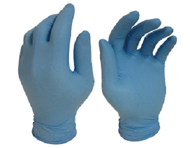 BLUE SHIELD Nitrile Disposable Gloves