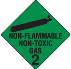 Class 2 - Non Flammable Non-Toxic Gas