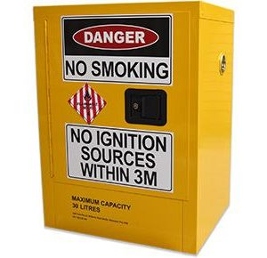 Class 4 dangerous goods safety cabinet