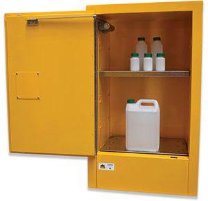 Class 4 dangerous goods safety cabinet - 60L