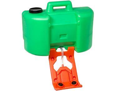 Portable gravity fed eyewash system – 35L tank